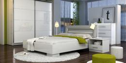 Hálószoba bútorok - Franciaágyak, tolóajtós gardróbok