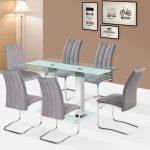 Walter fehér asztal + Lazio szék