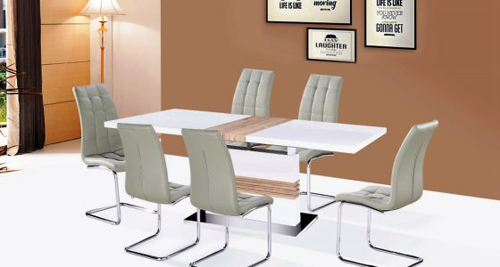 kansas étkezőaszta-colin kárpitos szék